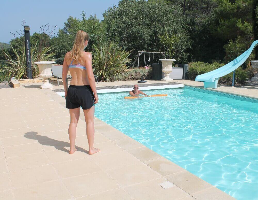 Cours de natation Aquaphobie Nantes