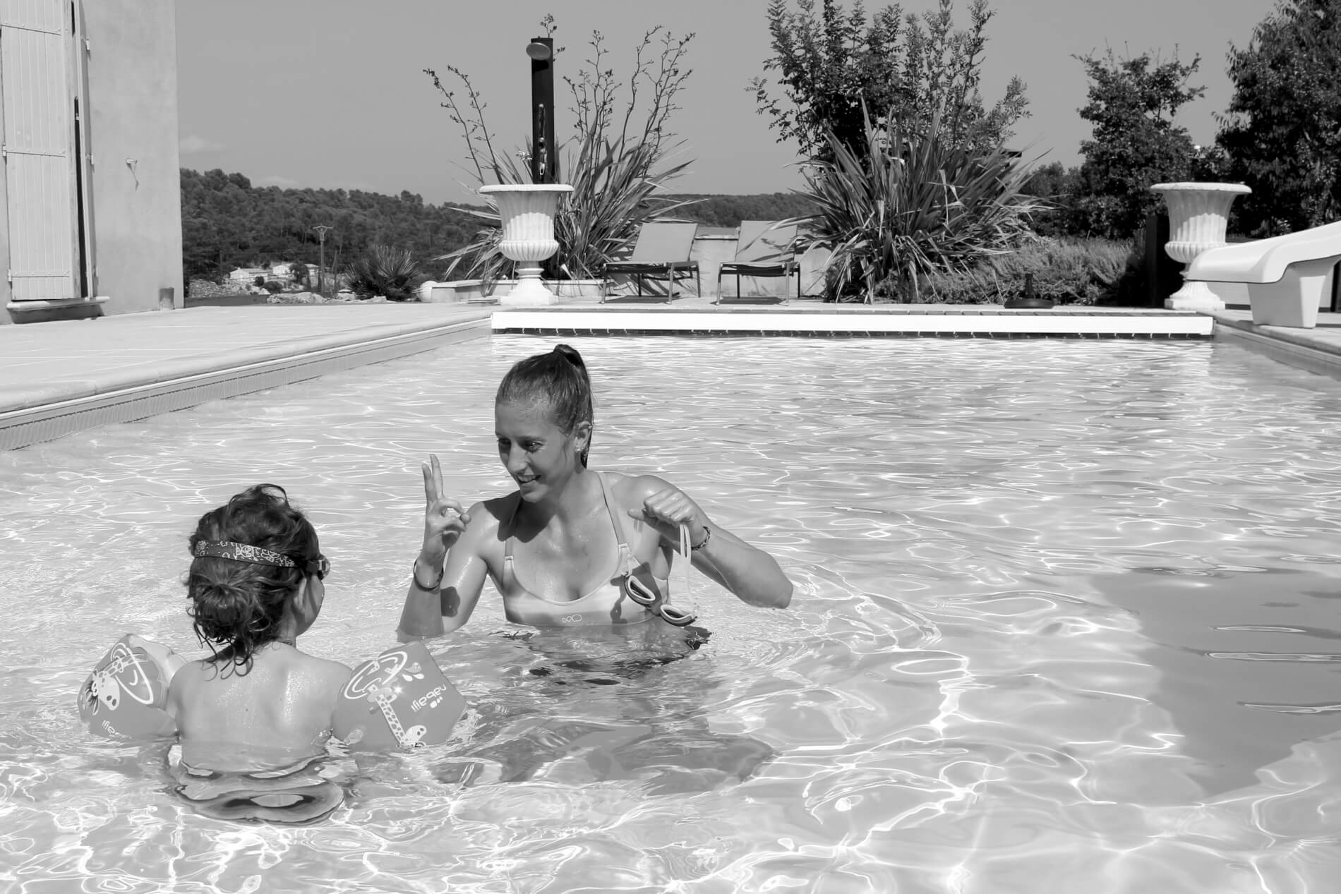 Bébé nageur cours natation Nantes